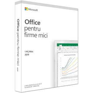 Microsoft Office Home and Business 2019, Engleza, 1 PC/Mac