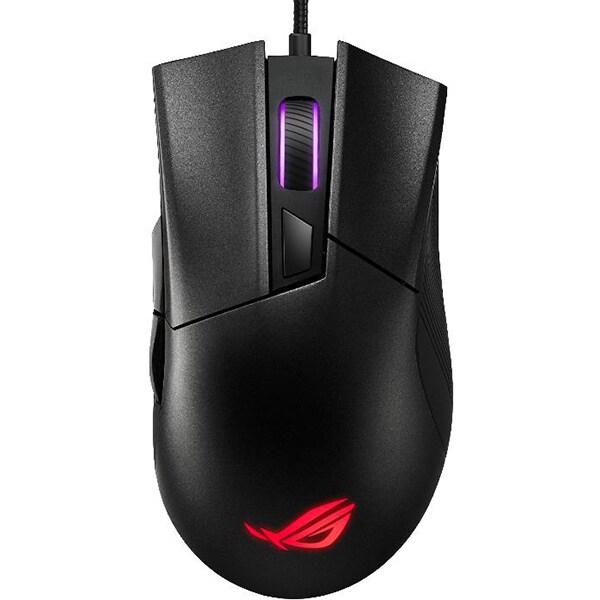 Mouse Gaming ASUS ROG Gladius II Core, 6200 dpi, negru