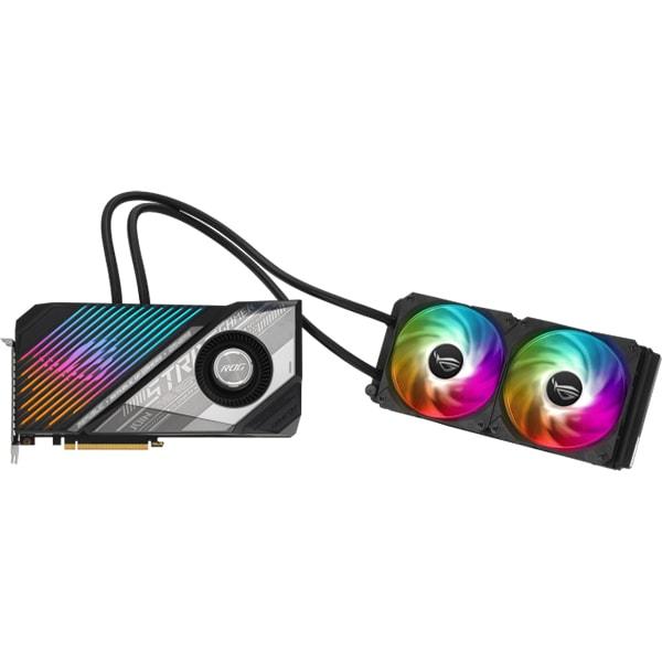 Placa video ASUS ROG Strix AMD Radeon RX 6900 XT, 16GB GDDR6, 256bit, ROG-STRIX-LC-RX6900XT-T16G-GAMING