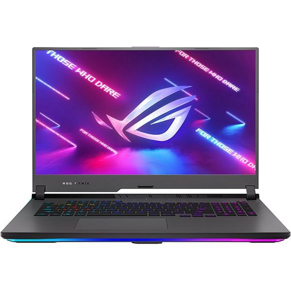 "Laptop Gaming ASUS ROG Strix G17 G713QR-HG021, AMDRyzen75800H pana la 4.4GHz, 17.3"" Full HD, 16GB, SSD 1TB, NVIDIA GeForceRTX3070 8GB, Free DOS, gri"
