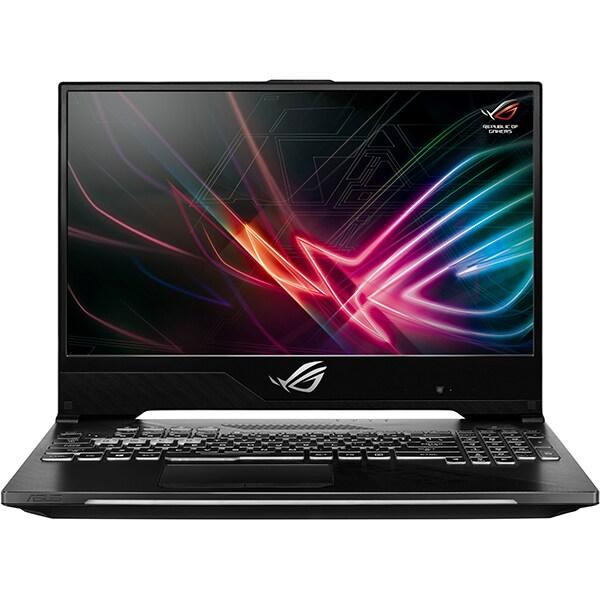 "Laptop Gaming ASUS ROG Strix Scar II GL504GV-ES003, Intel Core i7-8750H pana la 4.1GHz, 15.6"" Full HD, 16GB, SSHD 1TB + SSD 256GB, NVIDIA GeForce RTX 2060 6GB, Free Dos"