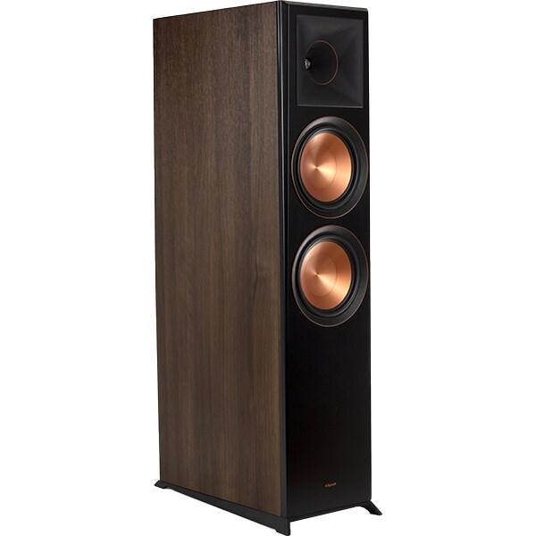 Boxe de podea si Dolby Atmos KLIPSCH RP-8060FA, 150W + 75W RMS, maro inchis