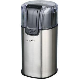 Rasnita cafea MYRIA MY4445, 50g, 150W, negru-argintiu