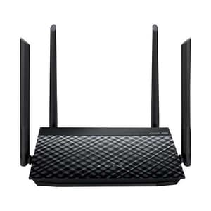 Router Wireless ASUS RT-N19 N600, Single-Band 600 Mbps, negru
