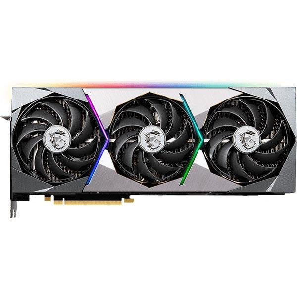 Placa video MSI GeForce RTX 3080, 10GB GDDR6X, 320bit, RTX3080 SUPRIM X 10G