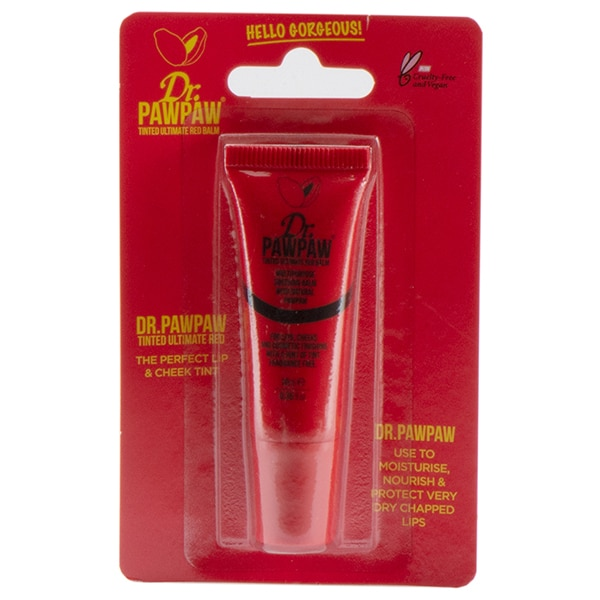 Balsam de buze DR. PAWPAW, Red, 10ml