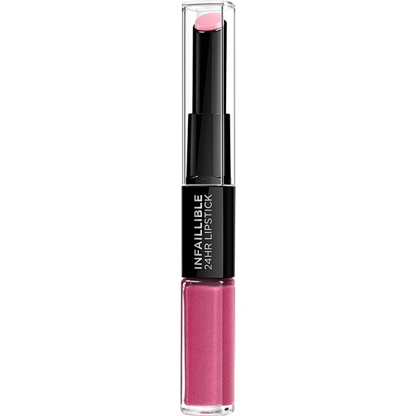 Ruj L'OREAL PARIS Infaillible 24H Lipstick, 121 Flawless Fuchsia, 5.6ml