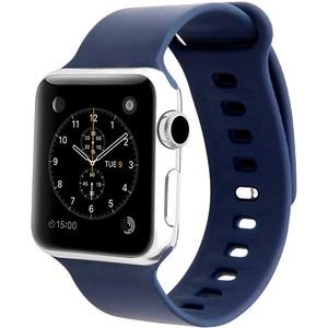 Bratara pentru Apple Watch 38mm, Medium/Large, PROMATE Rarity-38ML, silicon, albastru