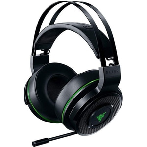 Casti Gaming Wireless RAZER Thresher Xbox One, stereo, dongle 2.4Ghz, negru-verde