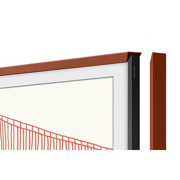 Rama TV personalizata SAMSUNG VG-SCFA65TRCXC pentru The Frame TV (2021) 65LS03A, rosu