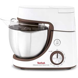 Robot de bucatarie TEFAL MasterChef Gourmet Baking With Kids QB51K138, vas 4.6l, 1100W, 8 trepte viteza, alb
