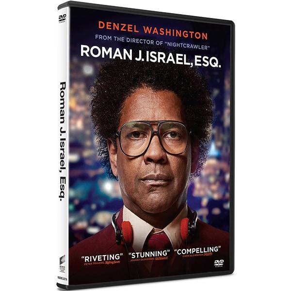Roman J. Israel, Esq. DVD