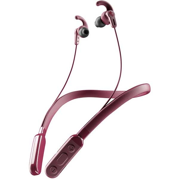 Casti SKULLCANDY Ink'd+ Active S2MHW-M685, Bluetooth, In-ear, Microfon, Moab Red Black