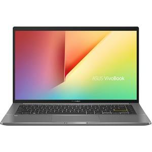 "Laptop ASUS VivoBook S14 S435EA-KC049, Intel Core i7-1165G7 pana la 4.7GHz, 14"" Full HD, 16GB, SSD 512GB, Intel Iris Xe Graphics, Free Dos, verde inchis"