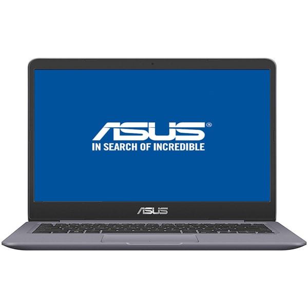 "Laptop ASUS VivoBook S14 S410UA-EB017, Intel® Core™ i5-8250U pana la 3.4GHz, 14"" Full HD, 4GB, HDD 500GB + SSD 128GB, Intel® UHD Graphics 620, Endless"