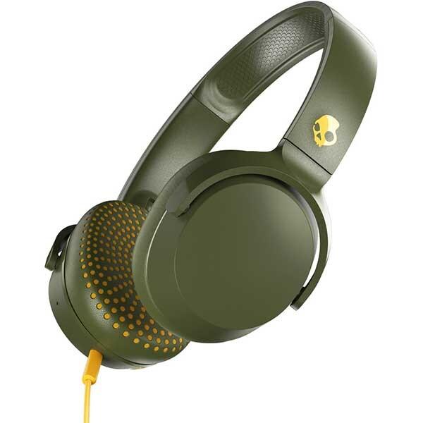 Casti SKULLCANDY Riff S5PXY-M687, Cu fir, On-ear, Microfon, Olive Moss Yellow