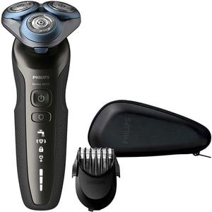 Aparat de ras PHILIPS Shaver S6640/44, acumulator, autonomie 60 min, SkinComfort, negru-gri