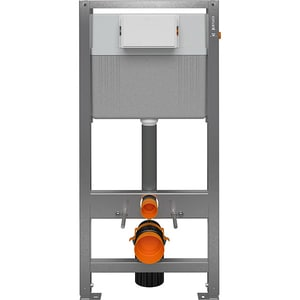 Rezervor WC incastrat CERSANIT Aqua 72 S97-050, 2-6 l, gri