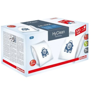 Kit MIELE XXL HyClean 3D Efficiency: 16 saci + 4 filtre motor + 4 filtre evacuare