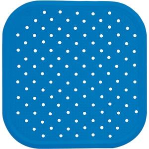 Covoras antiderapant pentru dus SANGER SANG13713, 56 x 56cm, albastru