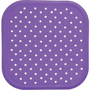 Covoras antiderapant pentru dus SANGER SANG13726, 56 x 56cm, violet