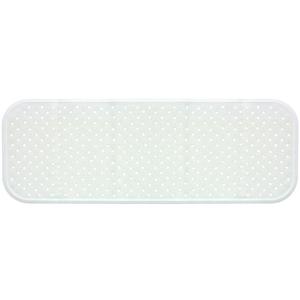 Covoras antiderapant pentru cada SANGER SANG13760, 96 x 34cm, alb