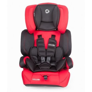 Scaun auto COCCOLLE Arra 321082320, 3 puncte, 9-36kg, rosu-negru