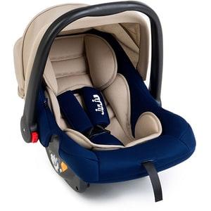 Scoica auto JUJU Baby Boo JU1200-ED-06, 3 puncte, 0 - 13kg, bej-bleumarin
