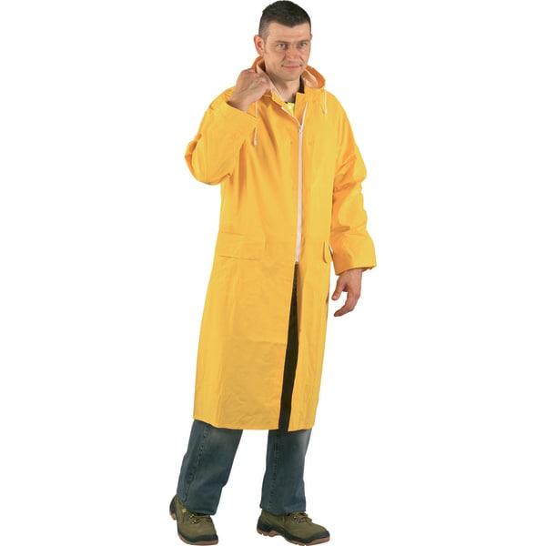 Pelerina ploaie COVERGUARD Euro Protection, PVC, marimea M, galben