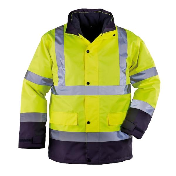 Jacheta de protectie COVERGUARD Sacla 4 in 1 Roadway, marimea XXL, galben