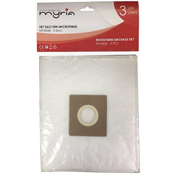 Set saci aspirator MYRIA MY4536, 5 buc