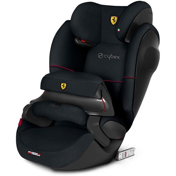 Scaun auto CYBEX Pallas M-Fix SL Scuderia Ferrari 519000241, Isofix, 9 - 36kg, negru