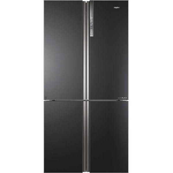 Side By Side HAIER HTF-610DSN7, No Frost, 628 l, H 190 cm, Clasa F, negru