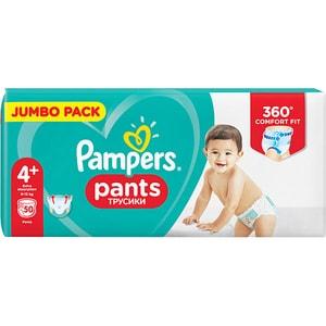 Scutece PAMPERS Pants Mega Box nr 4+, Unisex, 9-15 kg, 50 buc