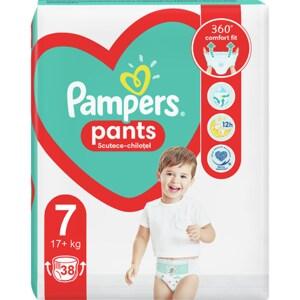 Scutece chilotei PAMPERS Pants Jumbo Pack nr 7, Unisex, 17+kg, 38 buc