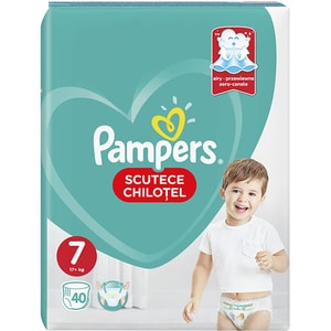 Scutece chilotei PAMPERS Pants Jumbo Pack nr 7, Unisex, 17+ kg, 40 buc