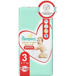 Scutece chilotei PAMPERS Premium Care Pants Value Pack nr 3, Unisex, 6-11 kg, 48 buc