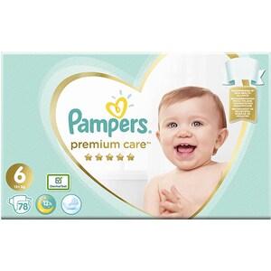 Scutece PAMPERS Premium Care Mega Box nr 6, Unisex, 13+ kg, 78 buc