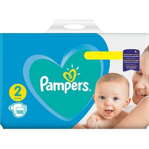 Scutece PAMPERS Active Baby Giant Pack nr 2, Unisex, 4-8 kg, 100 buc