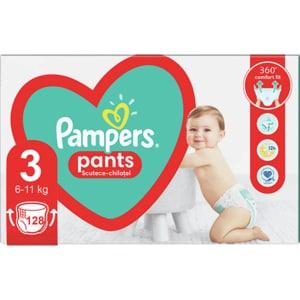 Scutece chilotei PAMPERS Pants Mega Box nr 3, Unisex, 6-11 kg, 128 buc