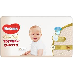 Scutece chilotei HUGGIES Elite Soft Pants nr 3, Unisex, 6-11 kg, 54 buc