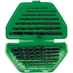 Set burghie pentru metal SPARTA, 1,5-6,5 mm, coada cilindrica, cutie, 13 piese