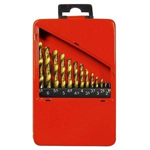 Set burghie pentru metal MTX, 1,5-6,5 mm, HSS, 13 piese