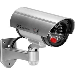 Camera supraveghere falsa exterior ORNO OR-AK-1208/G, gri