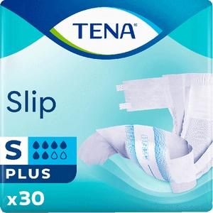 Scutece pentru adulti TENA Slip Plus, S, 30buc