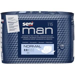 Absorbante incontinenta SENI Man, Normal, 15 buc