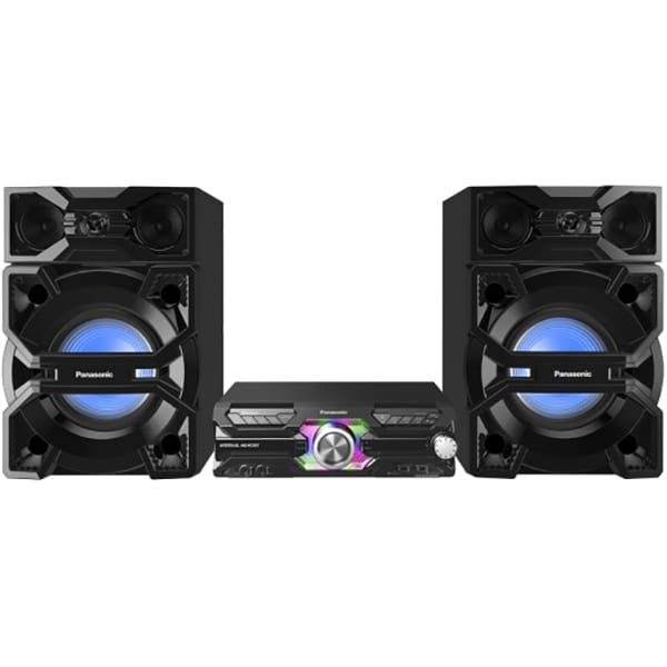 Sistem audio PANASONIC SC-MAX3500EK, 2400W, Bluetooth, USB, CD, Radio FM, Full Karaoke, negru
