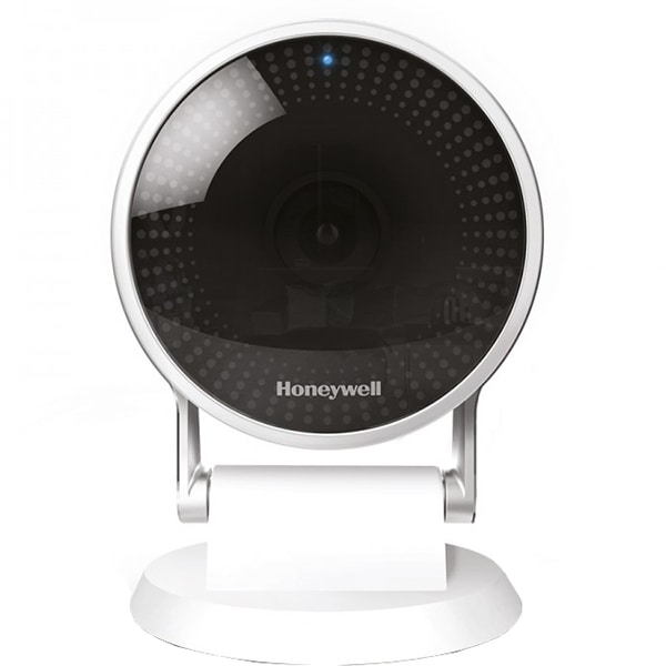 Camera IP Wireless HONEYWELL LYRIC C2, Full HD 1080p, IR, Night Vision, alb