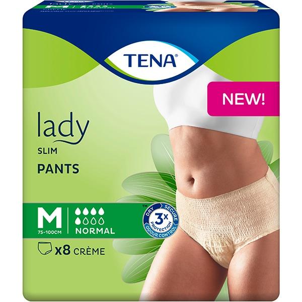 Scutece tip chilot TENA Lady Slim Pants, M, 8 buc