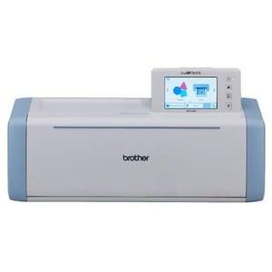 Scanner cu decupare BROTHER ScanNCut SDX1000, alb-bleu